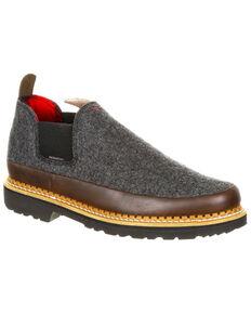 Georgia Boot Men's Pendleton Romeo Shoes - Round Toe, Slate, hi-res