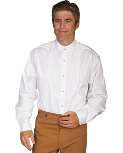 Wahmaker by Scully Long Sleeve Frontier Shirt, White, hi-res