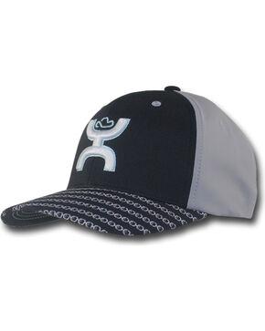 Hooey Men's Solo III Odessa Baseball Cap , Black, hi-res