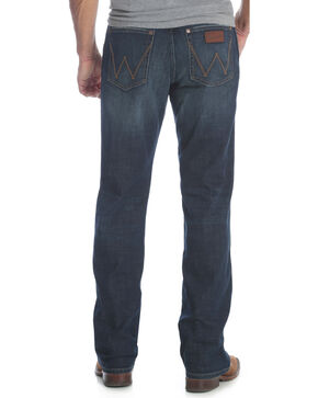 Wrangler Men's Blue Retro Relaxed Fit Jeans - Straight Leg , Blue, hi-res