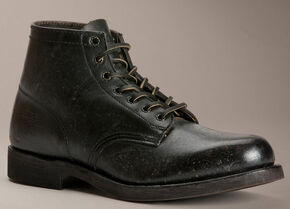 Frye Men's Prison Boots, Black, hi-res
