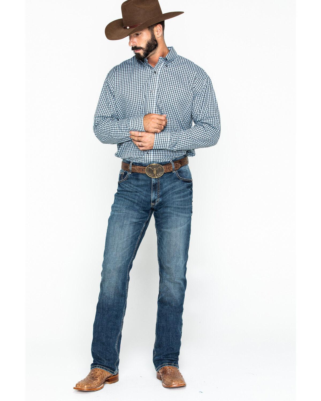 Layton Slim Fit Bootcut Jeans