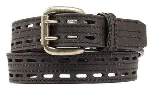 HDX Double Hole Belt, Black, hi-res