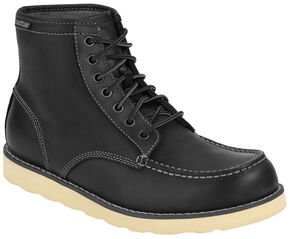 Eastland Men's Black Lumber Up Boots , Black, hi-res