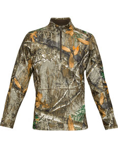 sports shoes ea518 915fb Under Armour Mens Camo Off Grip 1 4 Zip Pullover , Camouflage, hi-