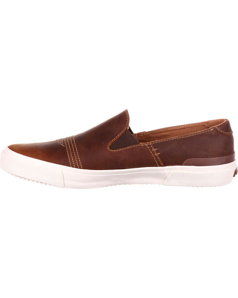Durango Men's Brown Music City Slip-On Sneakers , Brown, hi-res