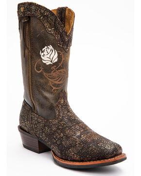 Shyanne Women's Drifter Xero Gravity Western Boots - Square Toe, Brown, hi-res