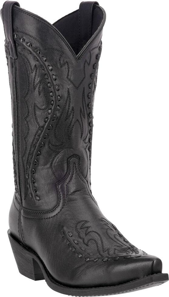 Laredo Men's Laramie Western Boots - Snip Toe, Black, hi-res