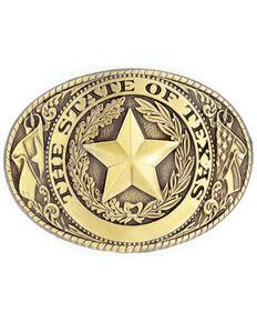 Texas Seal Buckle, Bronze, hi-res