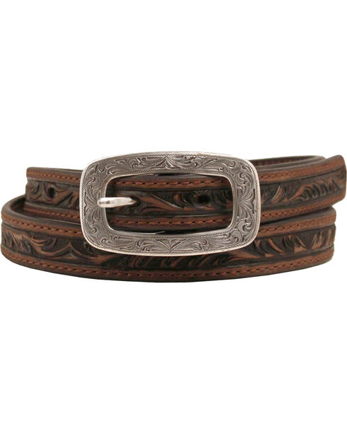 Ariat Embossed Belt, Brown, hi-res