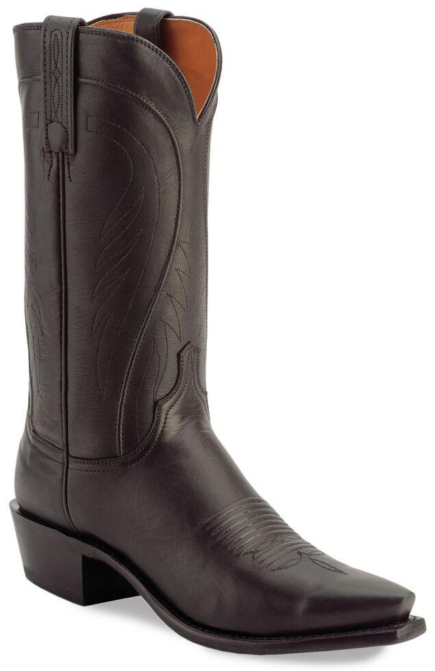 Lucchese Handmade 1883 Bart Ranch Hand Cowboy Boots - Snip Toe, Black, hi-res