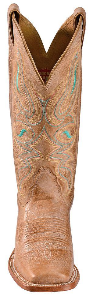Nocona Honey Cowhide Cowgirl Boots - Square Toe, Honey, hi-res