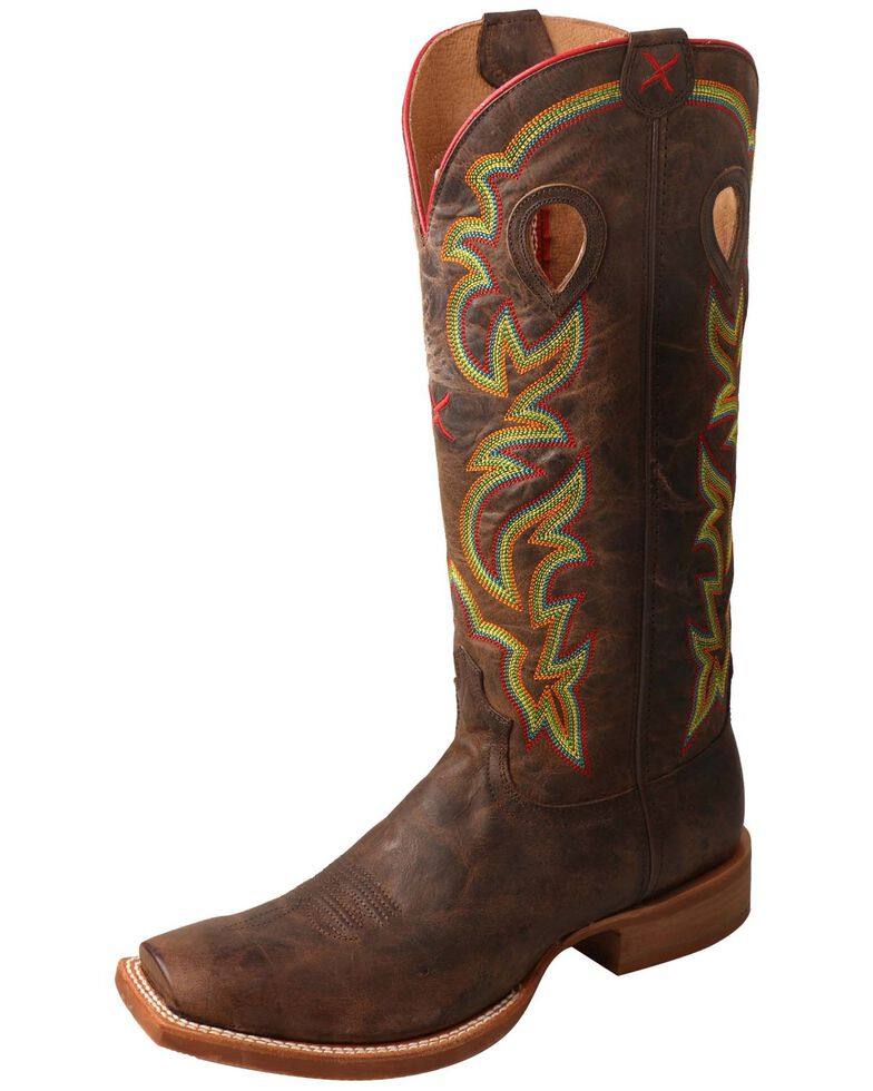 8d59ddc531d Twisted X Men's Buckaroo Western Boots - Square Toe