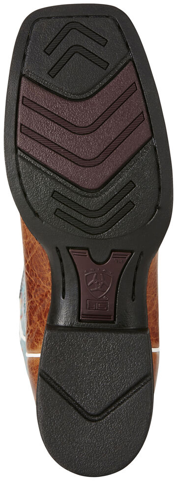 Ariat Women's Brown Quickdraw Venttek Boots - Wide Square Toe, Brown, hi-res