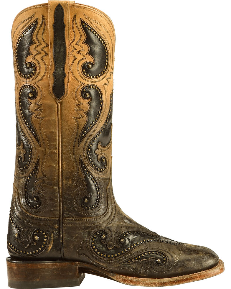 Lucchese Handmade Pearl Ombre Rita Cowgirl Boots - Square Toe , , hi-res