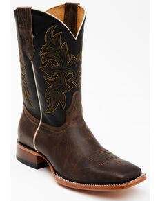 Cody James Men's Willow Western Boots - Wide Square Toe, Brown, hi-res