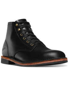 Danner Men's Jack II Lace-Up Boots - Round Toe, Black, hi-res
