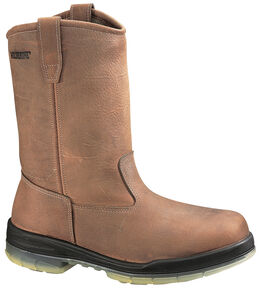 Wolverine DuraShocks® Insulated Waterproof Pull-On Work Boots - Steel Toe, Ceramic, hi-res