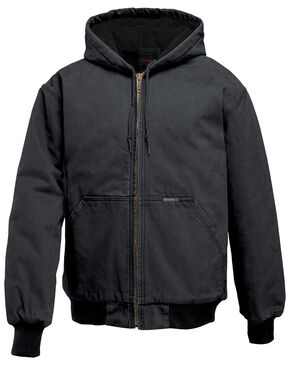 Wolverine Houston Hooded Jacket, Black, hi-res