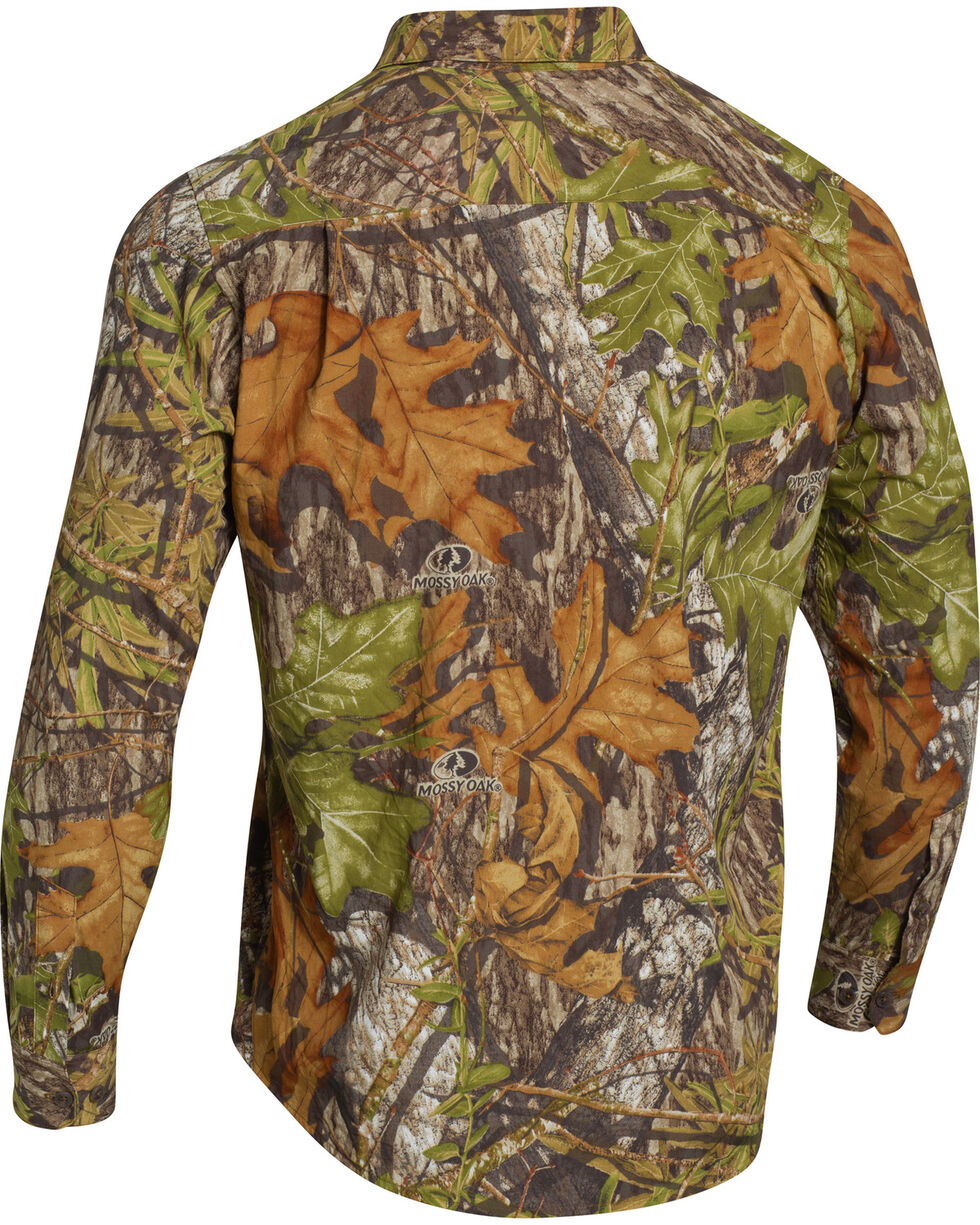 Under Armour Chesapeake Camo Long Sleeve Shirt, Mossy Oak, hi-res
