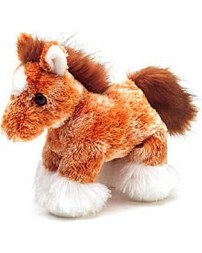 Aurora Clyde the Clydesdale Plush Toy, Camel, hi-res