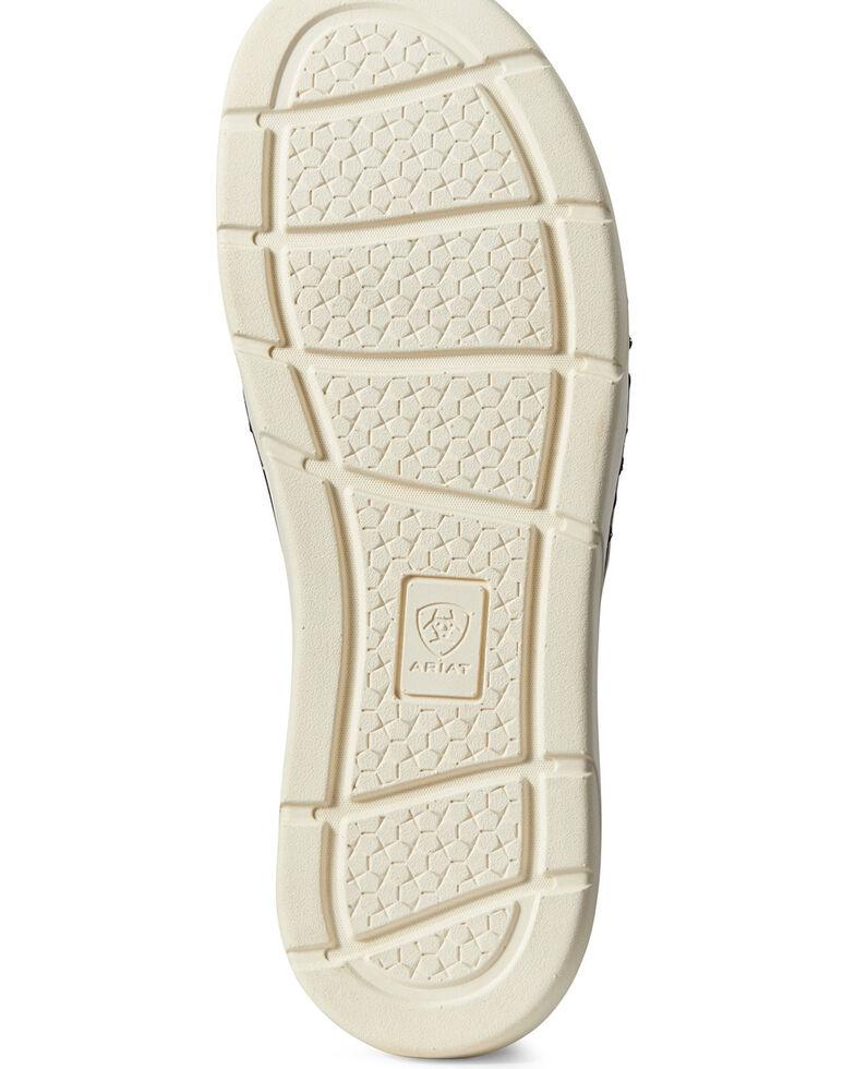 Ariat Women's Ryder Slip-On Leopard Shoes - Round Toe, Brown, hi-res