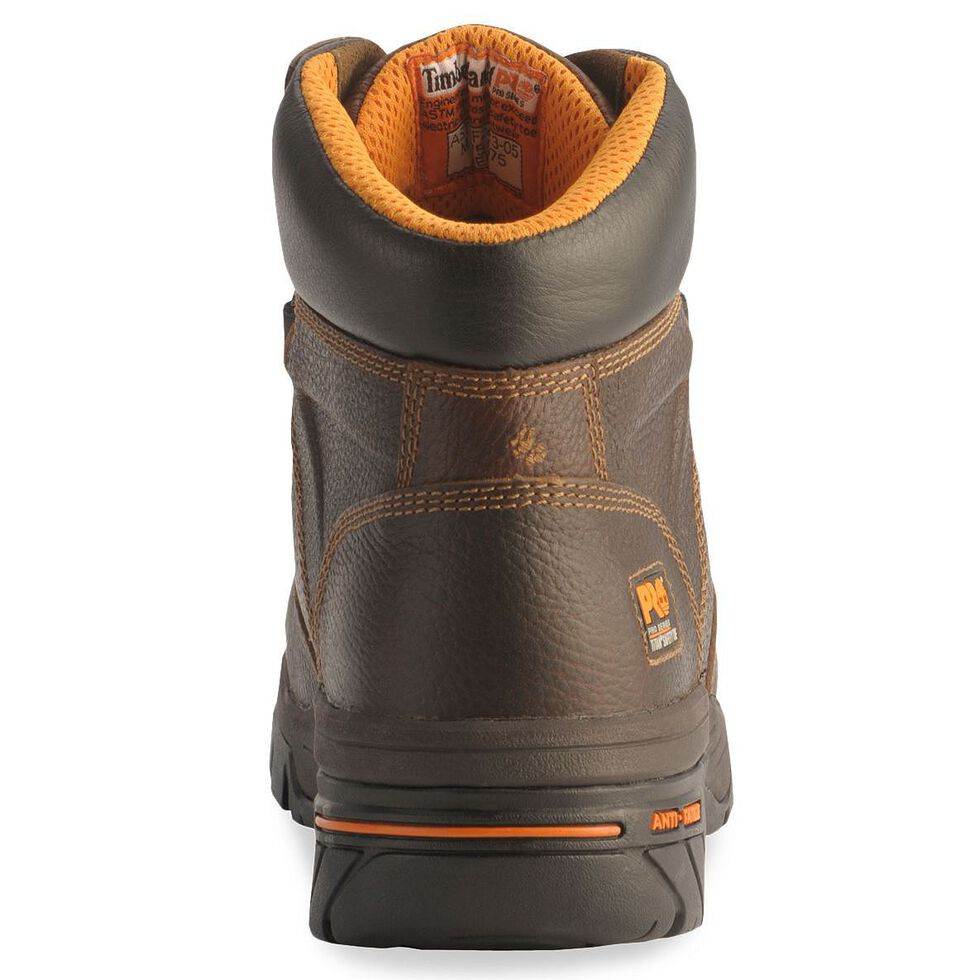 "Timberland Pro Brown 6"" Helix Boots - Composite Toe, Brown, hi-res"