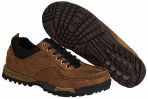 5.11 Tactical Men's Pursuit Worker Oxford Shoes, Distressed, hi-res