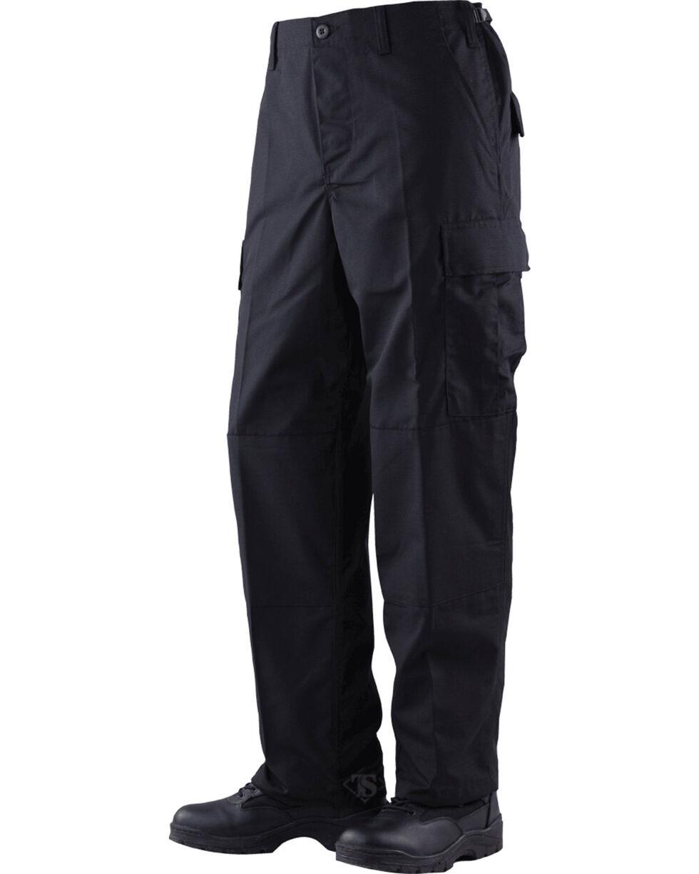 Tru-Spec Classic Battle Dress Uniform Cotton RipStop Pants, Black, hi-res