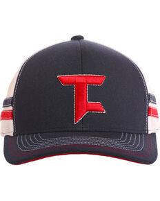 Tuf Cooper Men's Logo Stripe Trucker Cap, Blue, hi-res