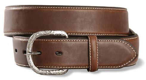 Nocona Brown Basic Belt - Reg & Big, Brown, hi-res