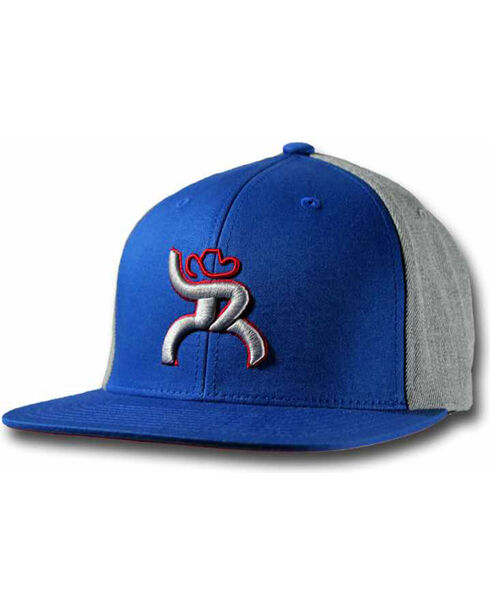Hooey Youth's Blue Roughy Baseball Cap , Blue, hi-res