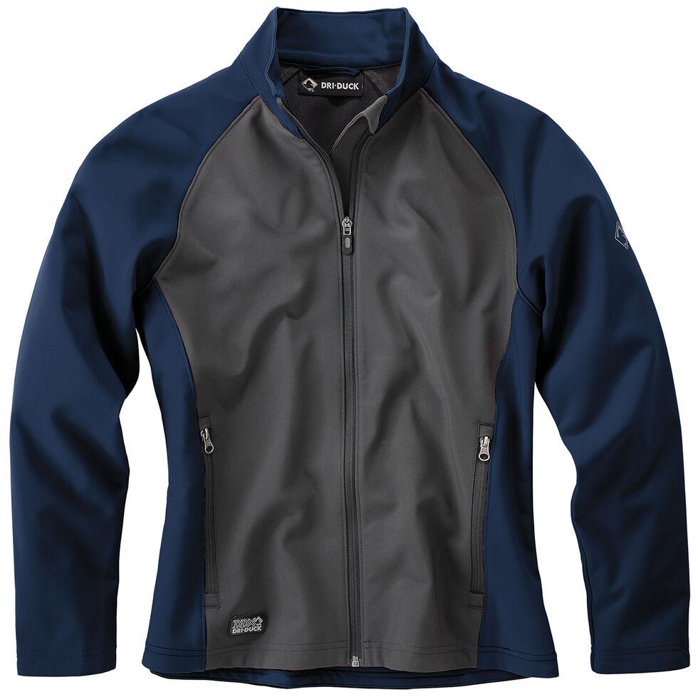 Dri Duck Women's Contour Soft Shell Jackets , Blue, hi-res