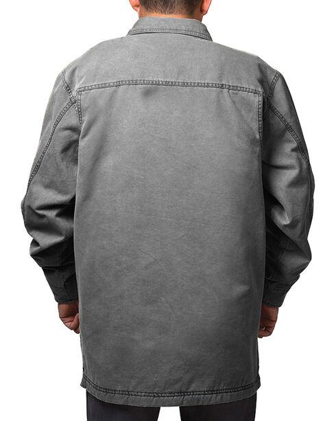 Walls Men's Grey Vintage Duck Shirt Jacket , Grey, hi-res