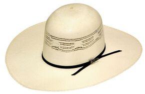 88adc84eb52 Twister Premium Bangora Open Crown Straw Cowboy Hat