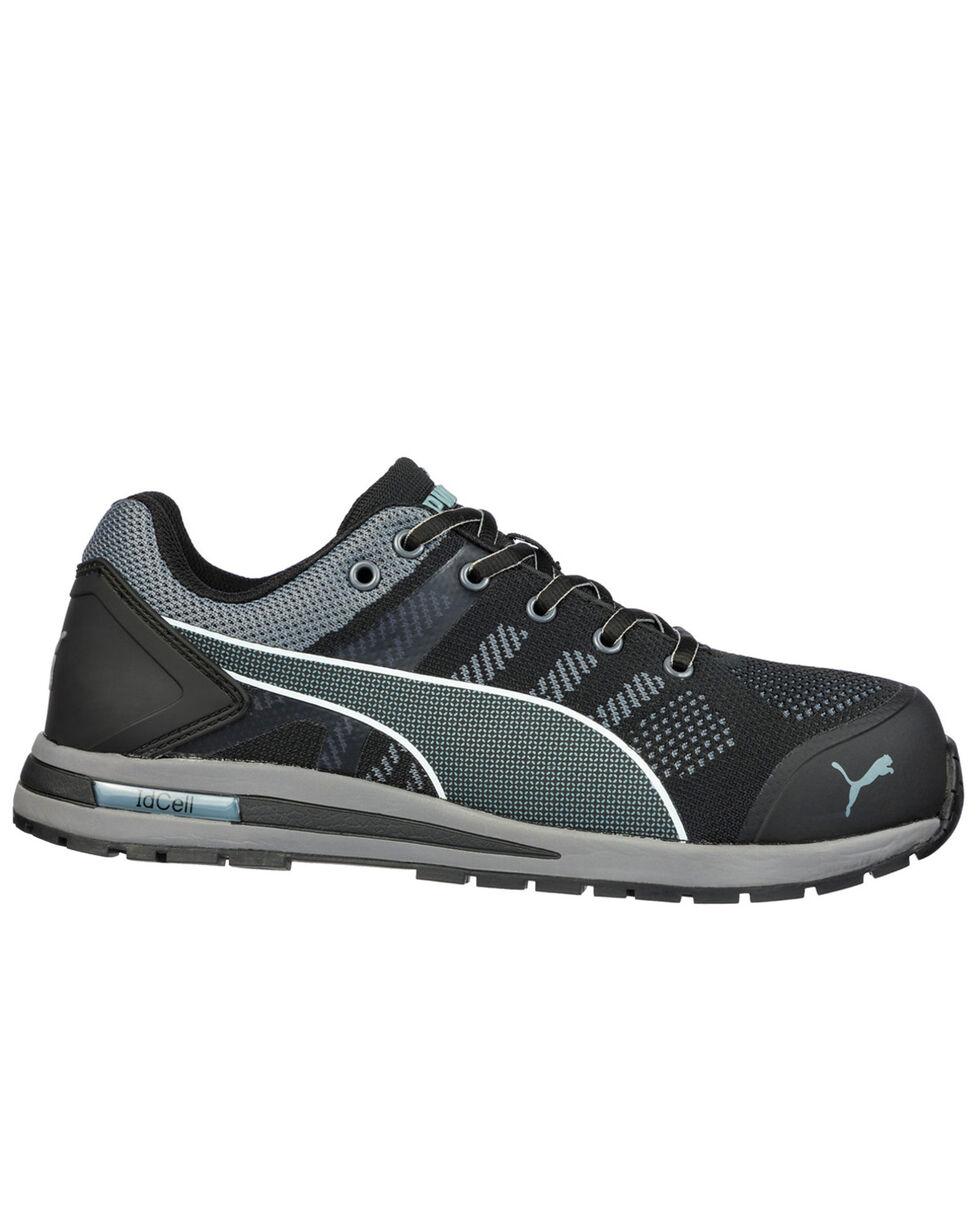 Puma Men's Gray Elevate Wedge Sole Work Shoes - Composite Toe, , hi-res