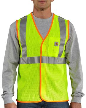 Carhartt High-Viz Class 2 Vest - Big & Tall, Lime, hi-res