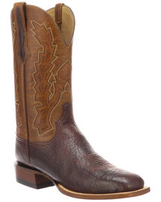 ec433f0686d Men's Lucchese Wide Square Toe Cowboy Boots - Sheplers