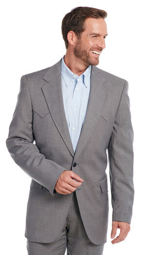 Circle S Men's Steel Grey Lubbock Sport Coat, Steel, hi-res