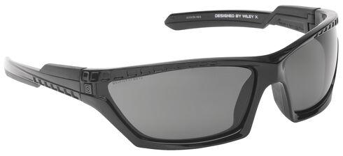 5.11 Tactical CAVU Full Frame Sunglasses (Polarized Lens), Black, hi-res