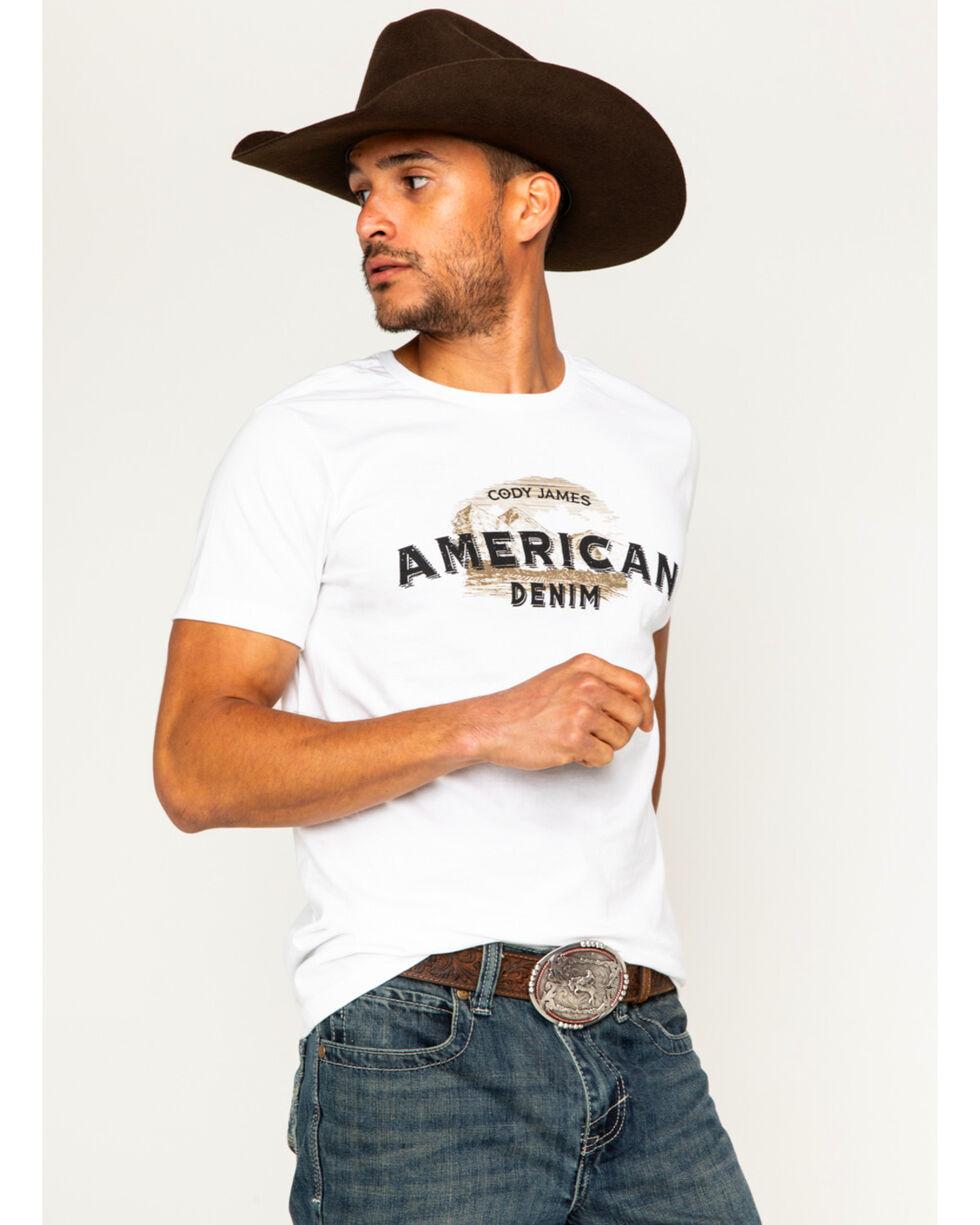 Cody James Men's American Mountains Tee, White, hi-res
