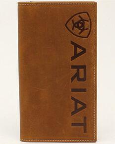 Ariat Men's Medium Brown Rodeo Wallet, No Color, hi-res