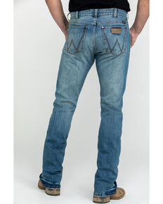 Wrangler Retro Men's Premium Saddler Slim Boot, Blue, hi-res
