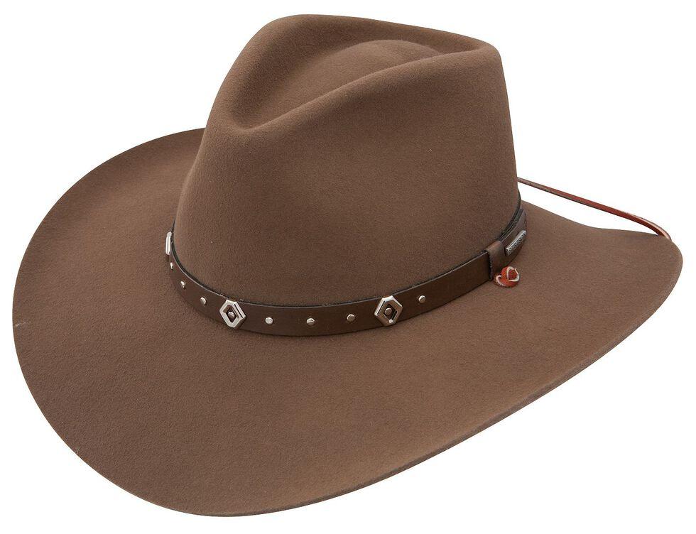 Stetson 3X Elk Ridge Stallion Wool Cowboy Hat, Pecan, hi-res