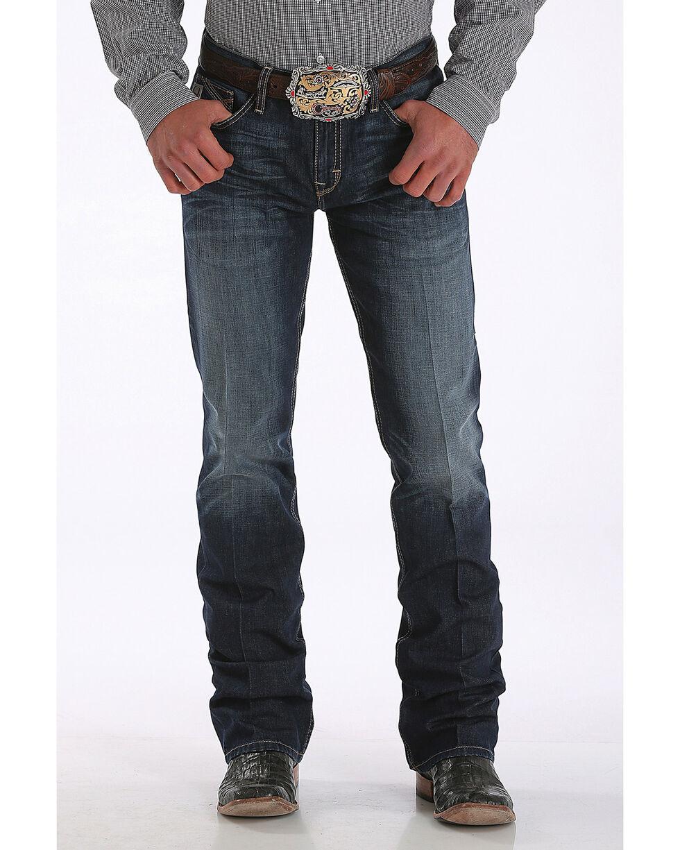 Cinch Men's Ian Slim Fit Jeans - Boot Cut , Indigo, hi-res
