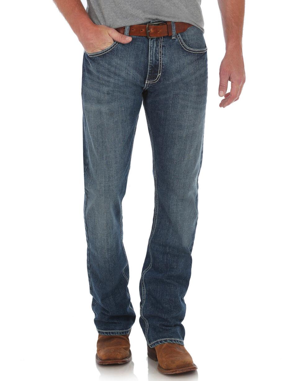 Wrangler 20X Men's No. 42 Vintage Boot Cut Jeans, Blue, hi-res