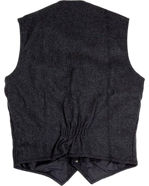 Schaefer Outfitter Men's Charcoal McClure Wool Vest , Charcoal, hi-res