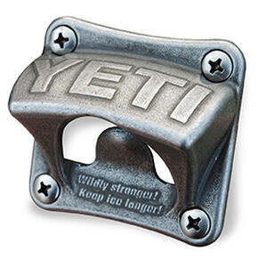 YETI Stainless Steel Mounted Bottle Opener, Silver, hi-res