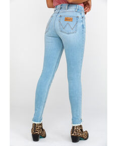 Wrangler Women's Heritage High Rise Skinny Jeans, Light Blue, hi-res