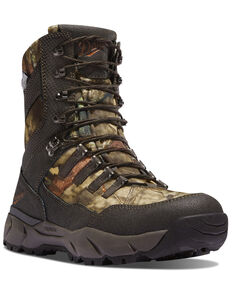 Danner Men's Vital Mossy Oak Hunting Boots, Moss Green, hi-res